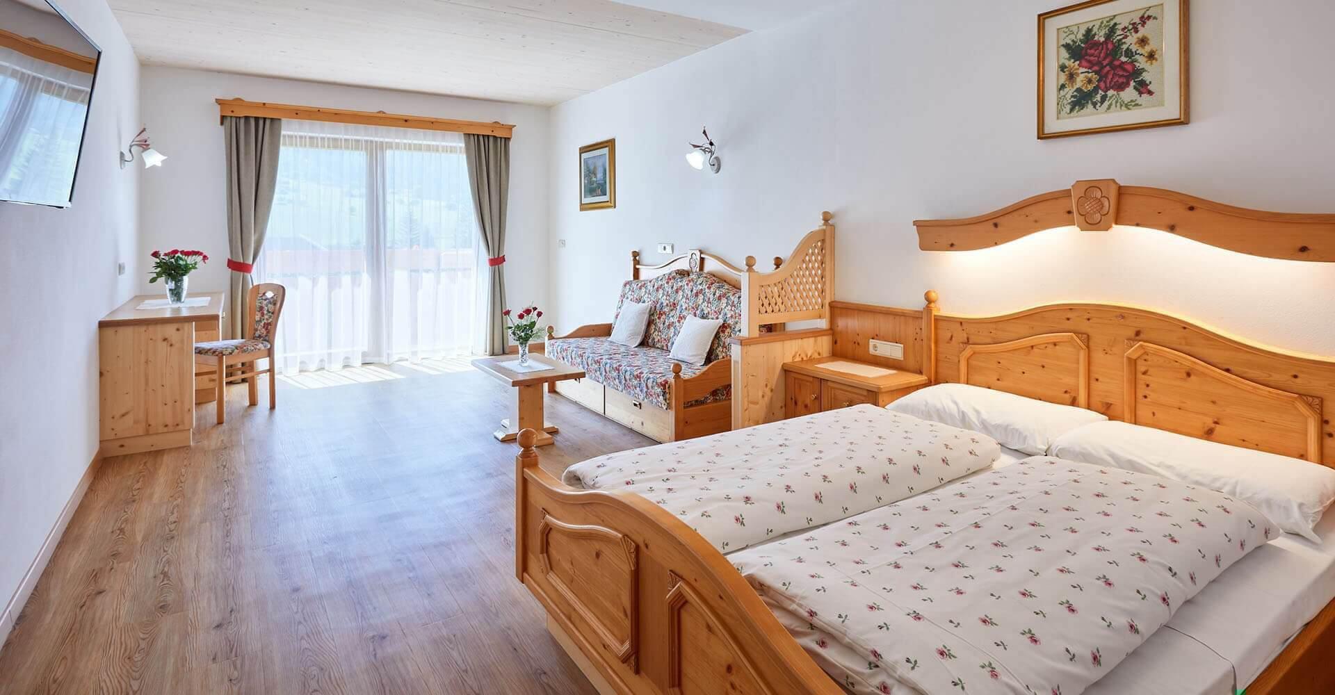 idyllisch gelegenes 3-Sterne-Hotel in Vals bei Meransen