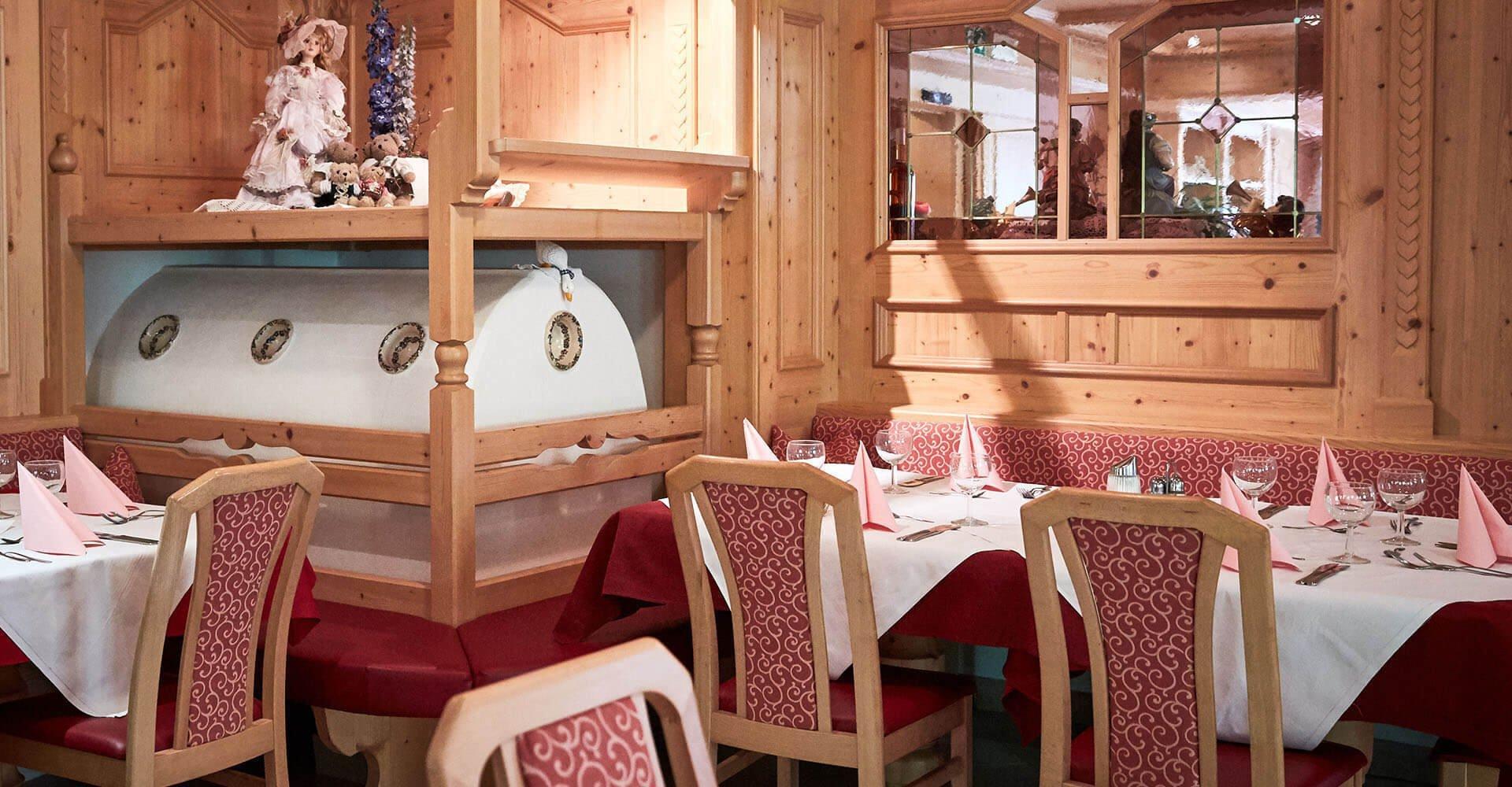 Lassen Sie es sich schmecken in unserem 3-Sterne-Hotel im Pustertal